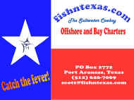 fishntexas.com Bay and Offshore Fishing Trips with the Saltwater Cowboy!