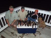 cast and blast rockport texas